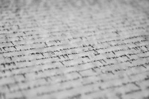 Écriture et papier