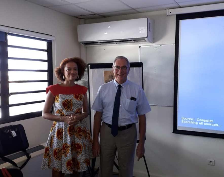 Salle de réunion Paulette NARDAL au DEAL de la Martinique